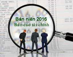 Báo cáo tài chính bán niên 2016