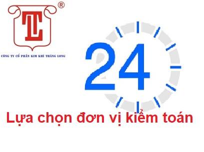 CÔNG BỐ THÔNG TIN 24 GIỜ